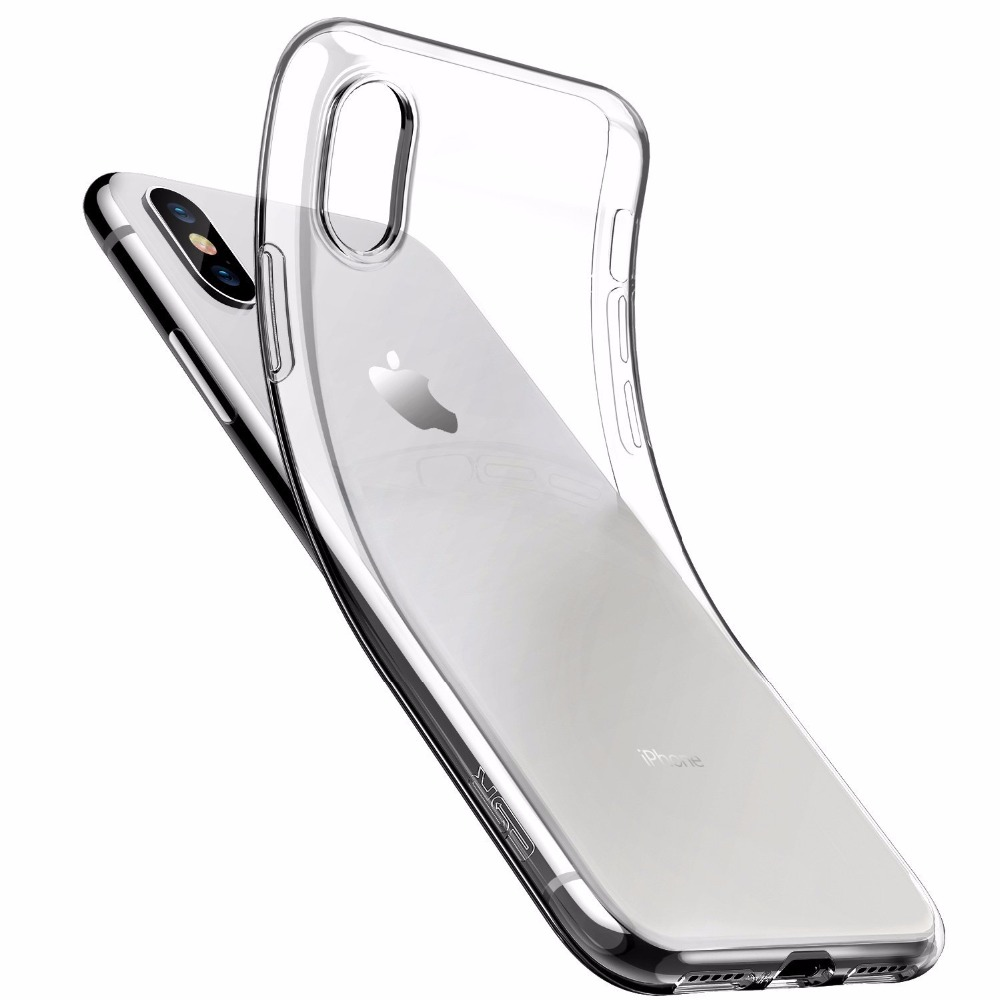 High Quality OEM Transparent Clear Soft Case for iPhone x 8 7 6 5 Case Ultra Thin Transparent Clear TPU Case Cover For iPhone X