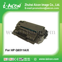 Compatible for hp 11x q6511x toner cartridge