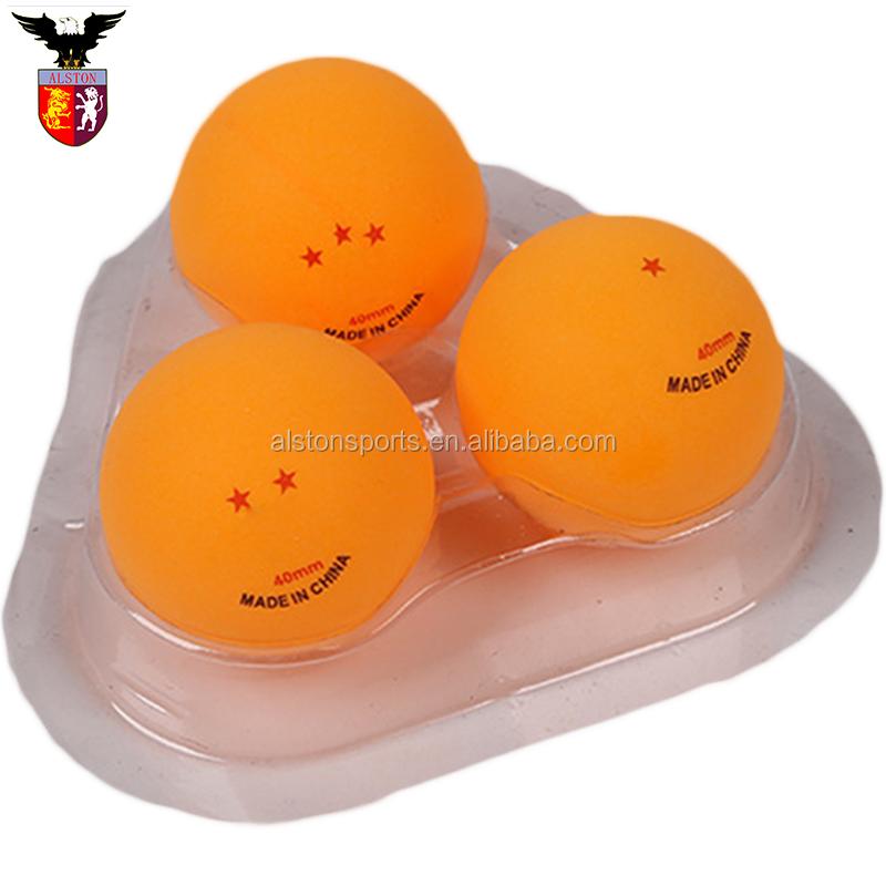 カスタム新トップ品質ピンポンボール卸売卓球ピンポンボール