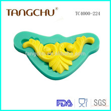 Silicone For Gypsum Mold Cake Decoration Tools Silicone Lace Soap Mold Chinese Supply