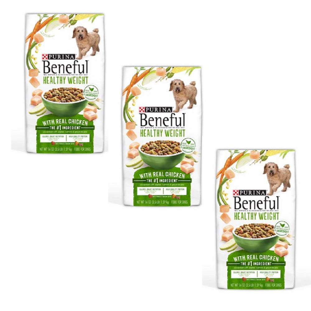 Purina Beneful IncrediBites for Small Dogs Adult Dry Dog Food (Healthy Weight, 3 Packs (Each 3.5 lb))