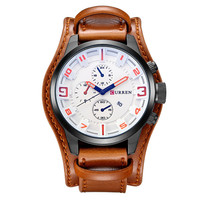 China Cheaper Luxury Brand Analog Men Military Watch Quartz Curren Brand Men Sport Watches 8225