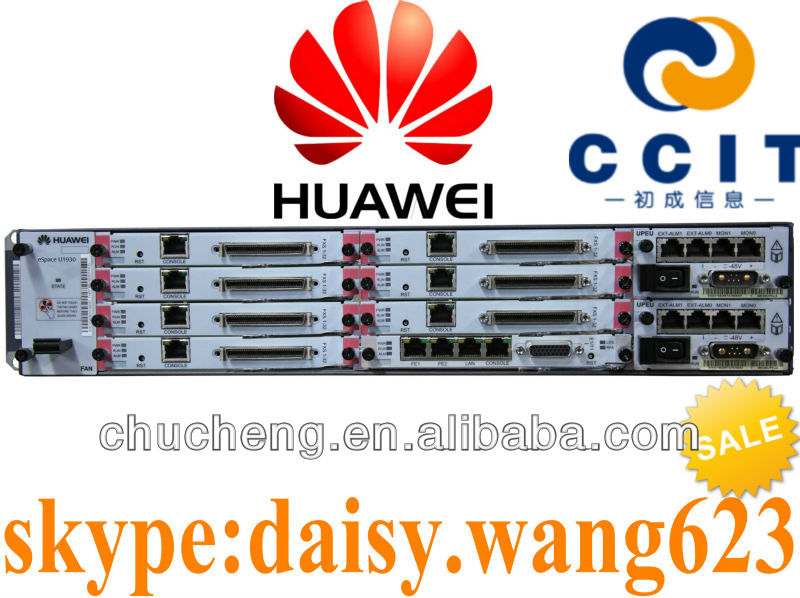 VoIP PBX System Huawei IP PBX eSpace U1930 60 FXO ports or 2 E1/T1 ports