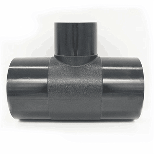 50*32mm Black HDPE tee joint pipe tube pipe fittings