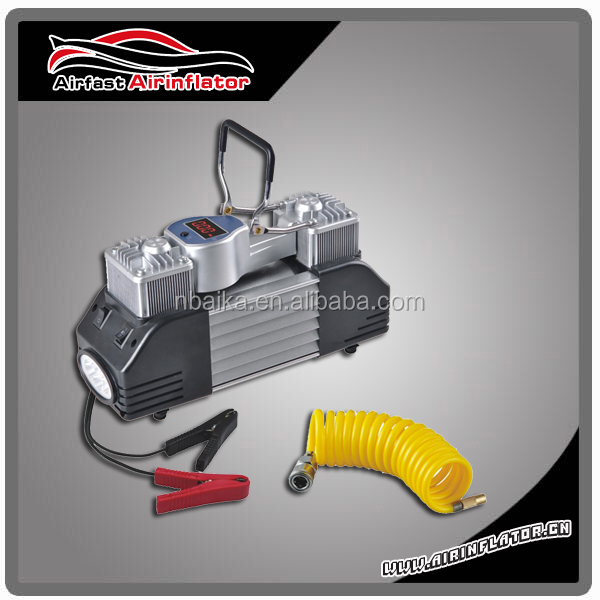 AIR COMPRESSOR DOUBLE CYLINDER COMPRESSOR METAL BIG MOTOR 300W