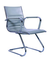 OS-3510 BIFMA white office chair with fixed arched base