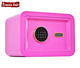 Famous brand golden fingerprint mini home safe deposit box with low price