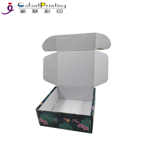 Custom Printing Eco friendly Luxury Colorful Packaging Rigid Corrugated Cardboard Shipping Mailer Box