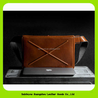 15021 2016 Newly crossbody bags laptop bag tablet bag customized leather travel briefcase document holder