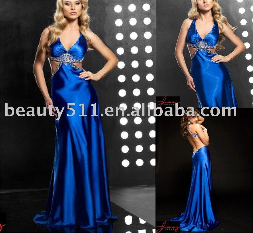 Sapphire Blue Special Occasion Dress Prom Dress Evening ...