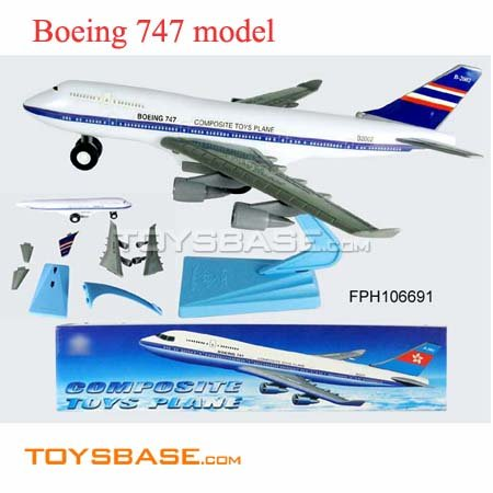 Model Boeing 747 Airplane,Friction Plane Toy