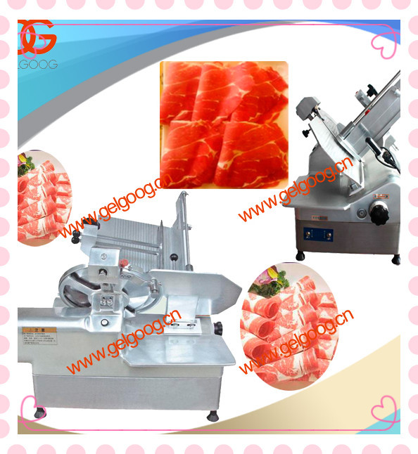 Frozen Beef Slicing Machine|Automatic Frozen Rolled Mutton Cutting Machine