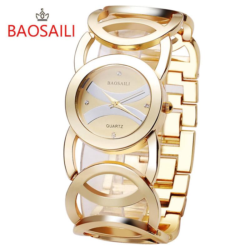 Купить модные женские часы BAOSAILI  Вторые часы в подарок!