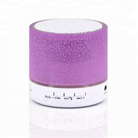 2018 Wireless Speaker Stereo Colorful Touch LED Light Lamp Music Player
