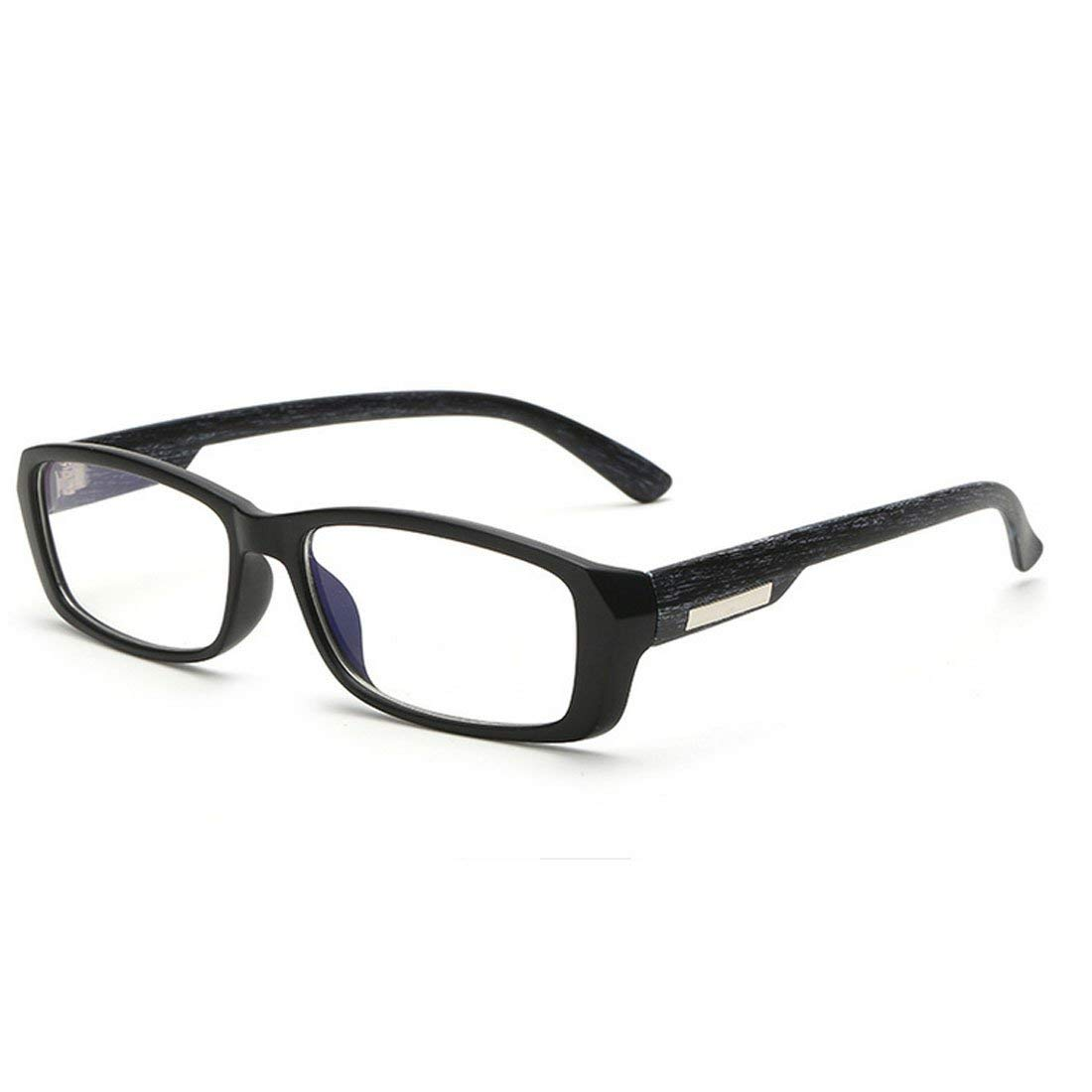 30d7be3e3d1d Get Quotations · D.King Vintage Inspired Horned Rim Rectangular Eye Glasses  Frames Clear Lens