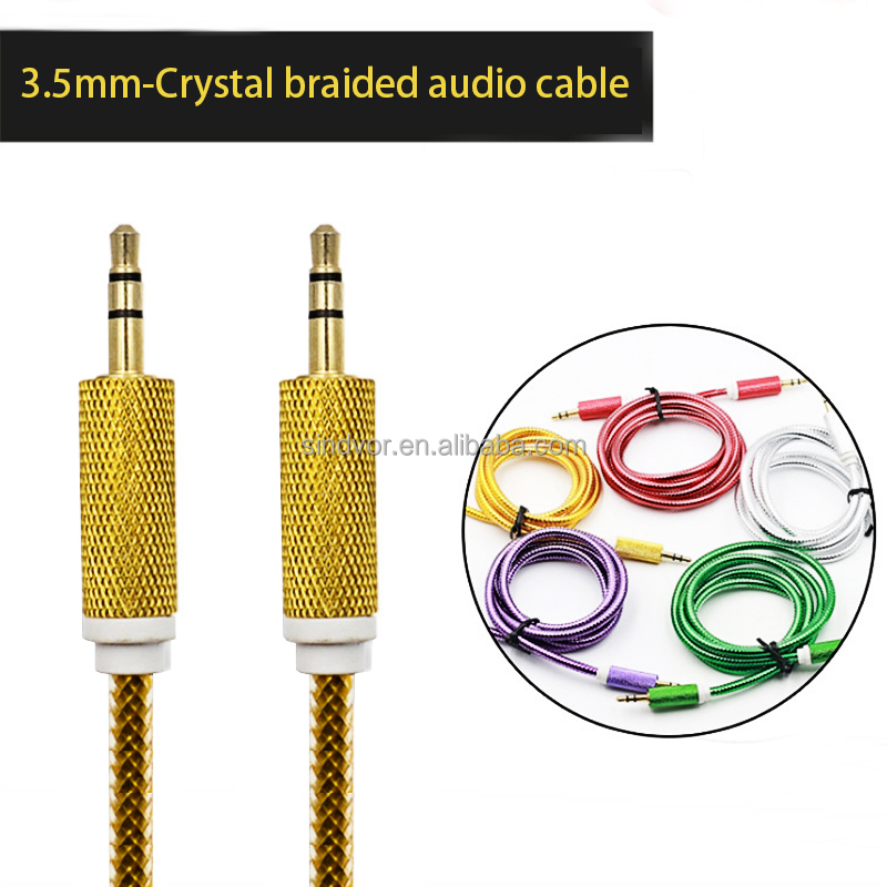 Fiber Cable Digital Audio Optical SPDIF Lead Cord OD6.0 mm JS/A Gold Snake Series for TV DVD CD players