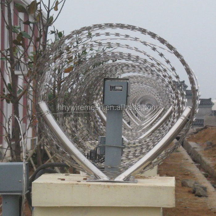 Best quality!! Hot Sale Competitive Price security fence razor barbed wire