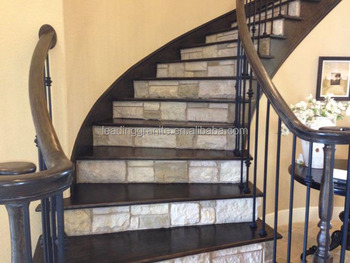 Indoor Modern Marble Stairs Best Floor Covering For Stairs