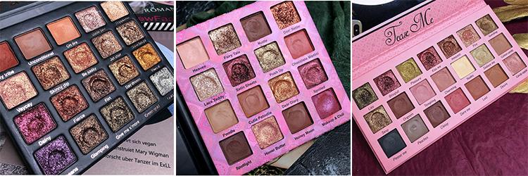 Hot Jual BLING BLING Glitter Eyeshadow 48 Warna Besar Pigmen Eyeshadow Palet