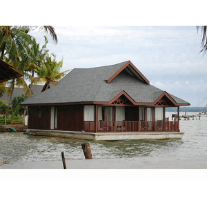 beachside prefabricated wooden house/cabin/log cabin/ wooden villa house for holiday use