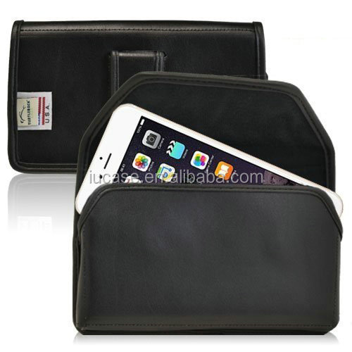 PU Leather Holster with Belt Clip, PU Leather Pouch with Belt Clip, PU Leather Case with Belt Clip