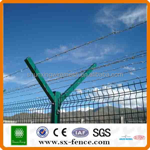 Iso9001 55*100mm Y Style Post Airport Concertina Fence - Buy Airport ...