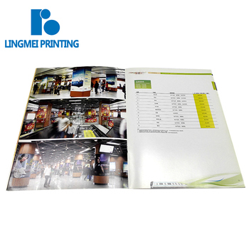 Cheap price fast delivery custom art coated paper glossy lamination advertising photo book / flyer /catalogue / brochure print