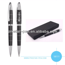 Good quality twist metal ball pen