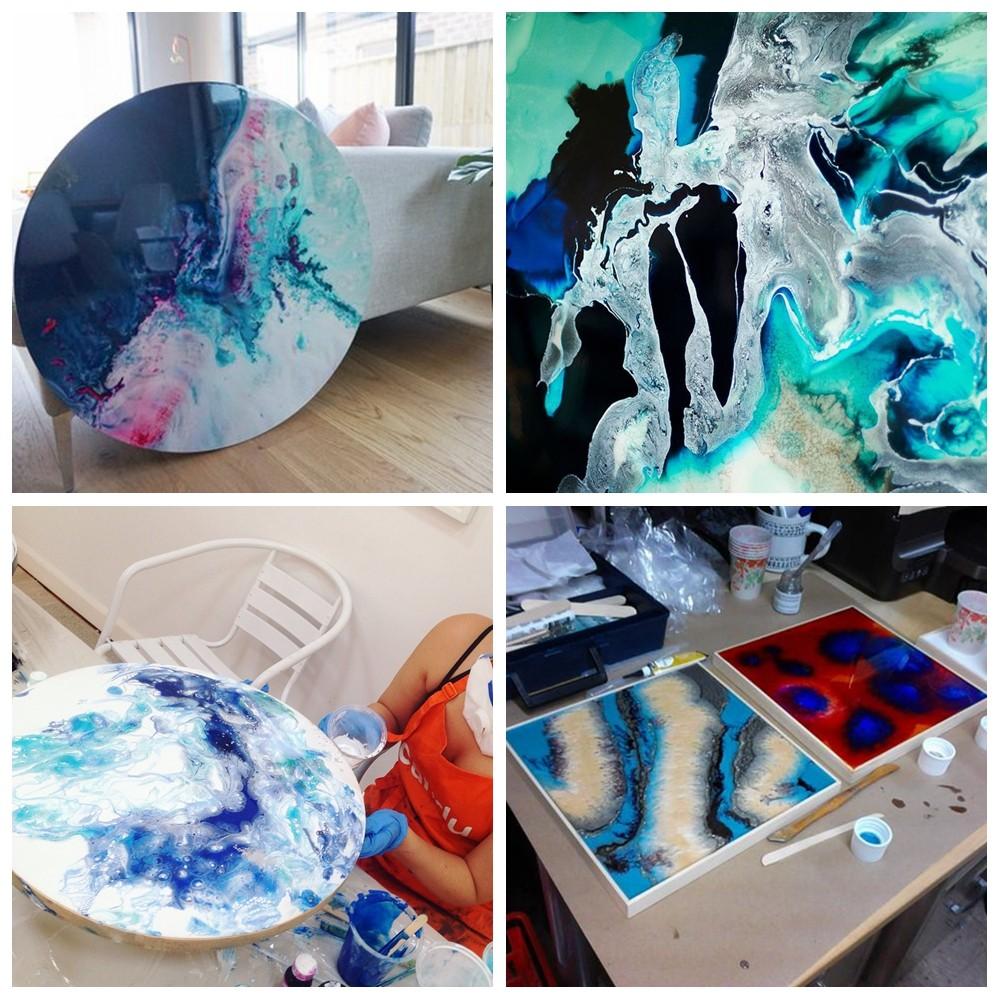 Epoxy Art Resin --16OZ Kit