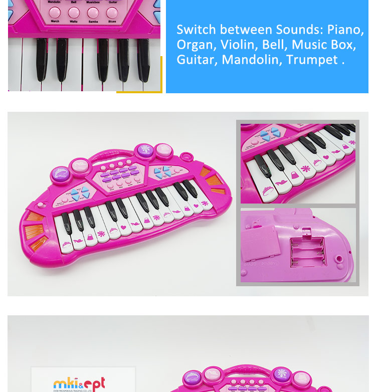 Multifunction 37 Keys Mini Electronic Keyboard Musical Piano