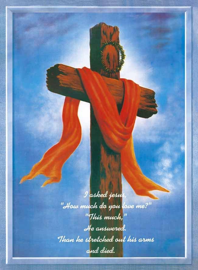 jesus cross with red cloth wwwpixsharkcom images