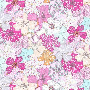 Hawaiian Flower Stampa Tessuto Per Costumi Da Bagno,Vestito Da Donna ...