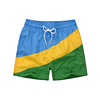 Fashion Custom Design Beach Mens Short Pants Sublimation Printing Board Swim Shorts