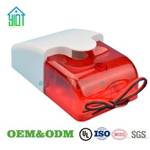 OEM custom plastic electronic round square temperature infrared sensor enclosure