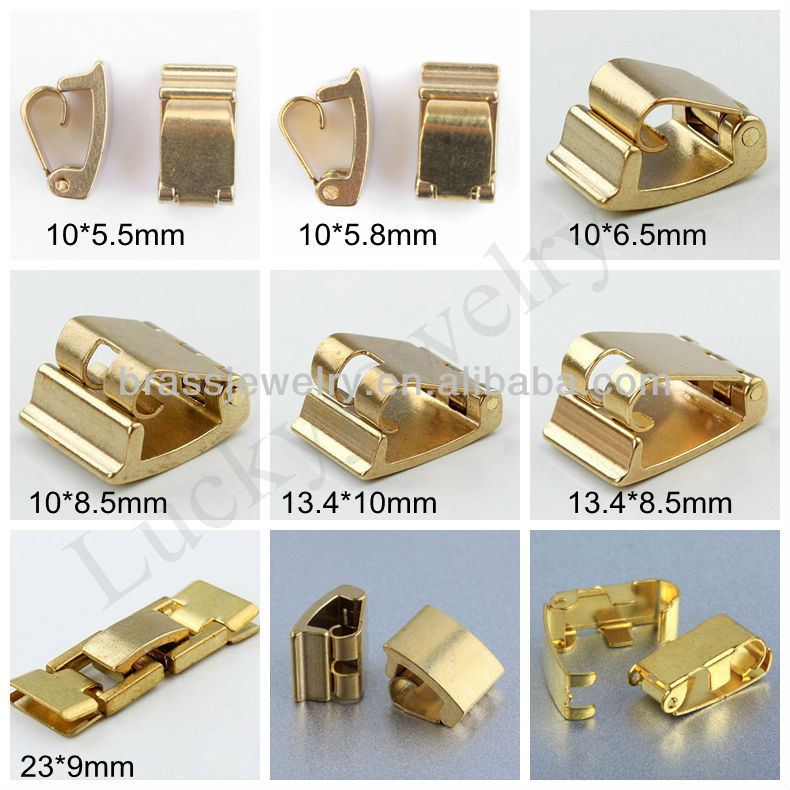 Diffe Size High Quality Fancy Jewelry Findings Raw Br Clasps For Bracelet