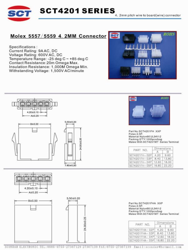 Molex 5569 Car Audio Connector Made In China - Buy Car Audio ...