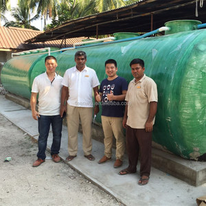 Package integrated MBBR Industrial domestic wastewater treatment plant wastewater machine system waste water equipment
