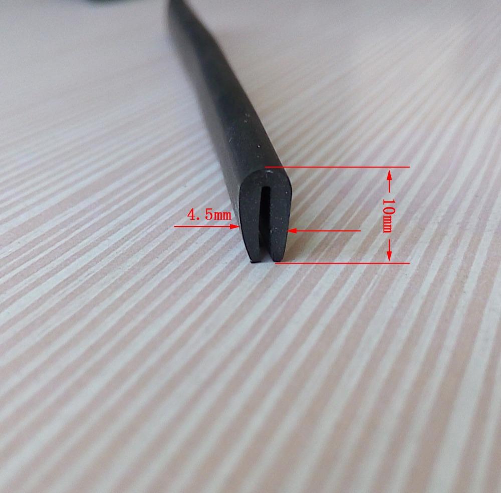 epdm pvc moulding u profile trim strip for table plate. Black Bedroom Furniture Sets. Home Design Ideas