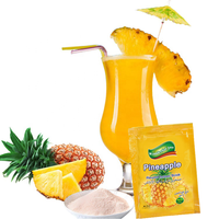 High Quality Juice Fruit Flavored Instant Drink Indonesia Pineapple Powder