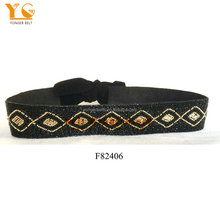 2016 fashion handmade beaded belt women belts seed beads strapes