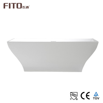 Bathroom One Person Reversible Acrylic Jetted Freestanding Bath Tub
