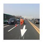 Qsttraffic High Reflective Price Road Marking Paint