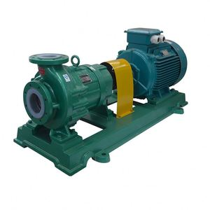Magnetic drive rams pump