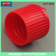 Round Plastic Red Cord Flip Cap 28*16mm Battery Cap from shenzhen mould plastic factory directly welcome custom