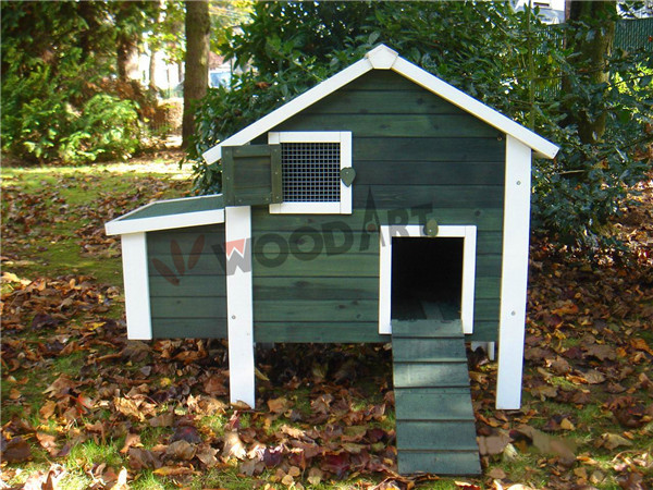 easy clean wooden chicken coop chicken cages and house with nesting box and run