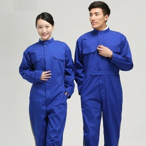 Mirror reflective welding engineering uniform wear clothes work overall