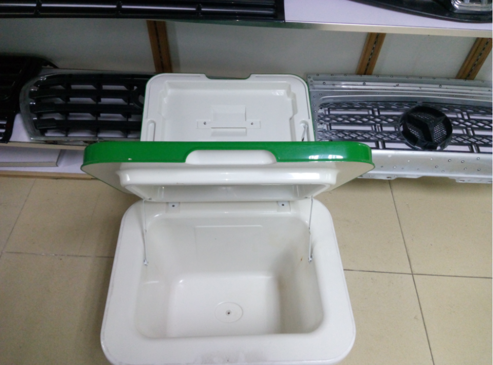 Customized Blister Molded Wholesale Vacuum Forming Cooler Box Ice Cream Transportation