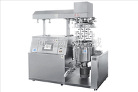 TUV ISO GMP Certificated Cosmetic PLC Control Vacuum Homogenizer Emulsifier for High Quality Cream Lotion Production