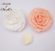 Cheap wholesale artificial ivory rubber foam flower for wedding party home decoration