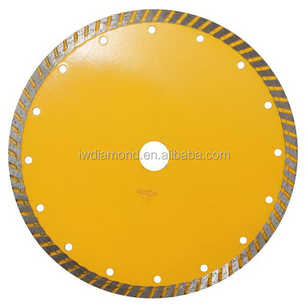 Saw Tools/ General Purpose Continuous Rim Sinter Turbo Diamond Cutting Blades